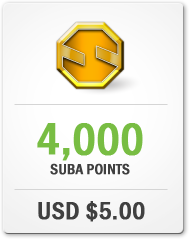 Purchase 4,000 Suba Points for USD $5.00